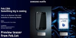 Samsung Galaxy S II Teaser